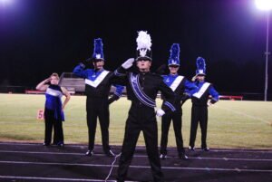 The Leonardtown HS Marching Band won the Group III A competition at Chopticon HS on 9/25/2021